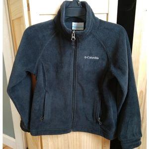 Columbia fleece coat, XS